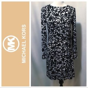 Like New ~ Michael Kors Side Knotted Dress - Small